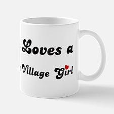 Carmel Valley Village girl Mug