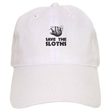 Save The Sloths Baseball Baseball Cap