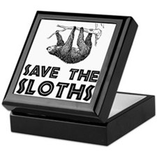 Save The Sloths Keepsake Box