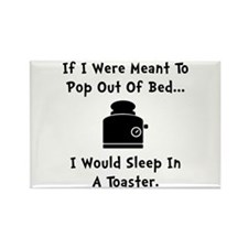 Sleep In Toaster Rectangle Magnet (10 pack)