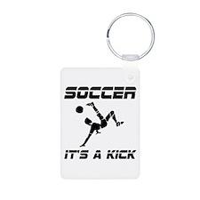 Soccer Kick Keychains
