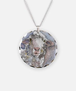 Shorn This Way, Sheep Necklace