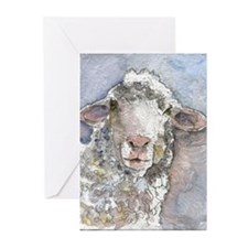 Shorn This Way, Sheep Greeting Cards (Pk of 20)