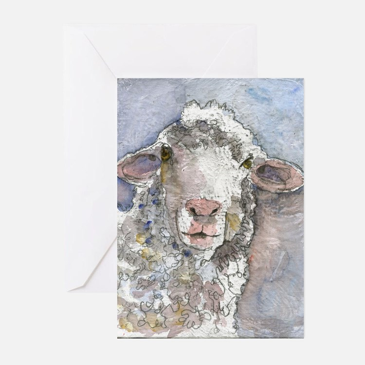Shorn This Way, Sheep Greeting Cards (Pk of 10)