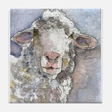 Shorn This Way, Sheep Tile Coaster