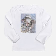 Shorn This Way, Sheep Long Sleeve Infant T-Shirt