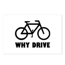 Why Drive Postcards (Package of 8)