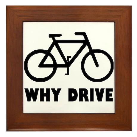 Why Drive Framed Tile