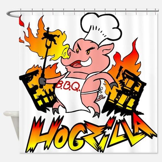 Hogzilla Shower Curtain