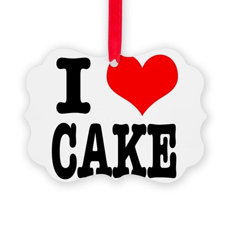 CAKE.png Picture Ornament