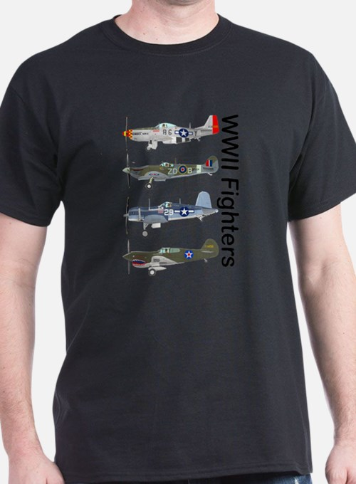 WWIIFighters_Front T-Shirt