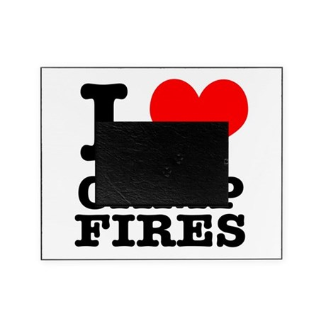 CAMP FIRES.png Picture Frame