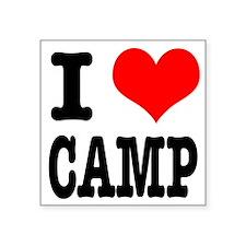 "CAMP.png Square Sticker 3"" x 3"""