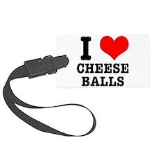 CHEESE BALLS.png Luggage Tag