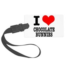 CHOCOLATE BUNNIES.png Luggage Tag