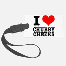 CHUBBY CHEEKS.png Luggage Tag
