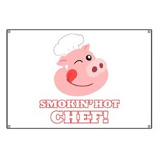 Smokin Hot Chef Banner