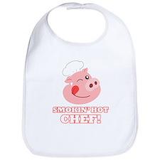 Smokin Hot Chef Bib