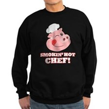 Smokin Hot Chef Sweatshirt