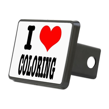 COLORING.png Rectangular Hitch Cover