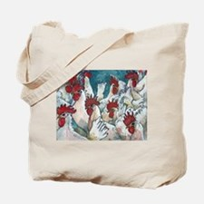 Chicken Hearted Tote Bag