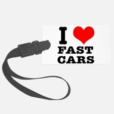 fast cars.png Luggage Tag