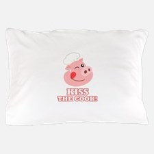 Kiss the Cook Pillow Case
