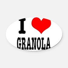 GRANOLA.png Oval Car Magnet
