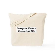 Summerland girl Tote Bag