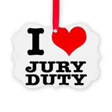 JURY DUTY.png Ornament