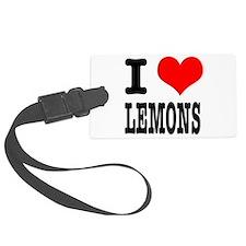 LEMONS.png Luggage Tag