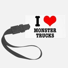 monster trucks.png Luggage Tag