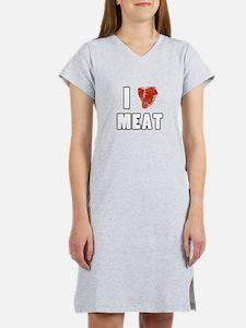 I Heart Meat Women's Nightshirt