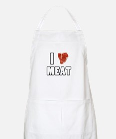 I Heart Meat Apron