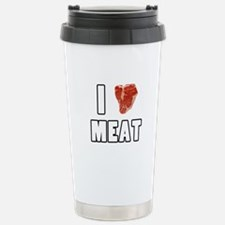 I Heart Meat Travel Mug