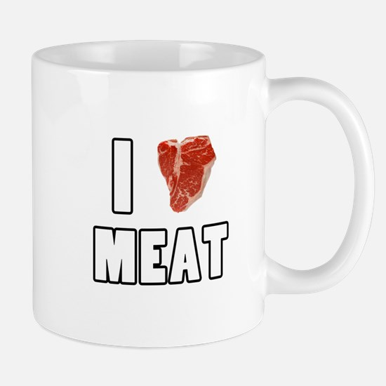 I Heart Meat Mug