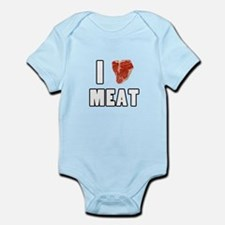 I Heart Meat Infant Bodysuit
