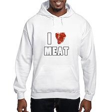 I Heart Meat Hoodie