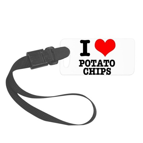 POTATO CHIPS.png Small Luggage Tag