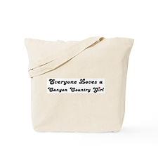 Canyon Country girl Tote Bag