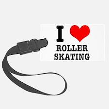 i heart roller skating.png Luggage Tag
