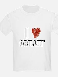 I Heart Grillin T-Shirt