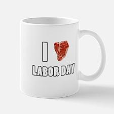 I Heart Labor Day Mug