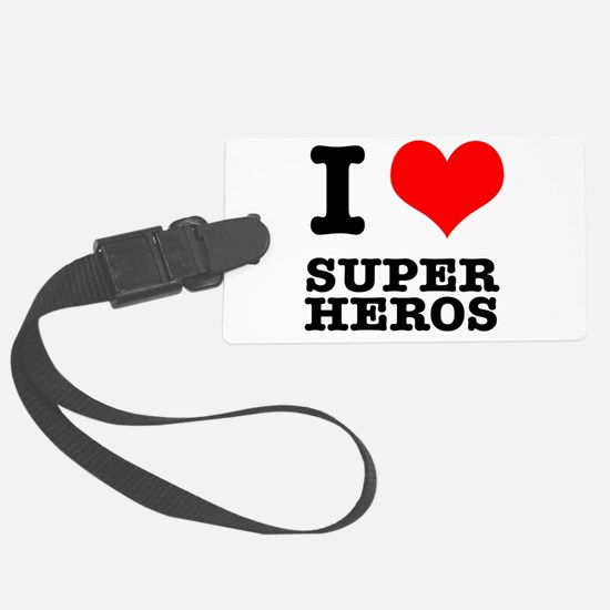 SUPER HEROS.png Luggage Tag