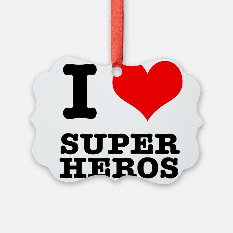 SUPER HEROS.png Ornament