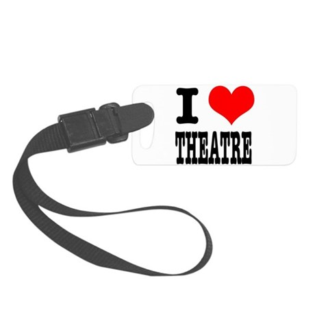 THEATRE.png Small Luggage Tag