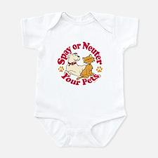 Spay/Neuter Circle (Pets) Infant Bodysuit