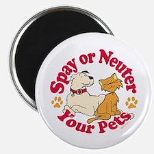 Spay/Neuter Circle (Pets) Magnet