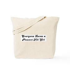 Pleasant Hill girl Tote Bag