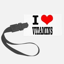 VITAMINS.png Luggage Tag